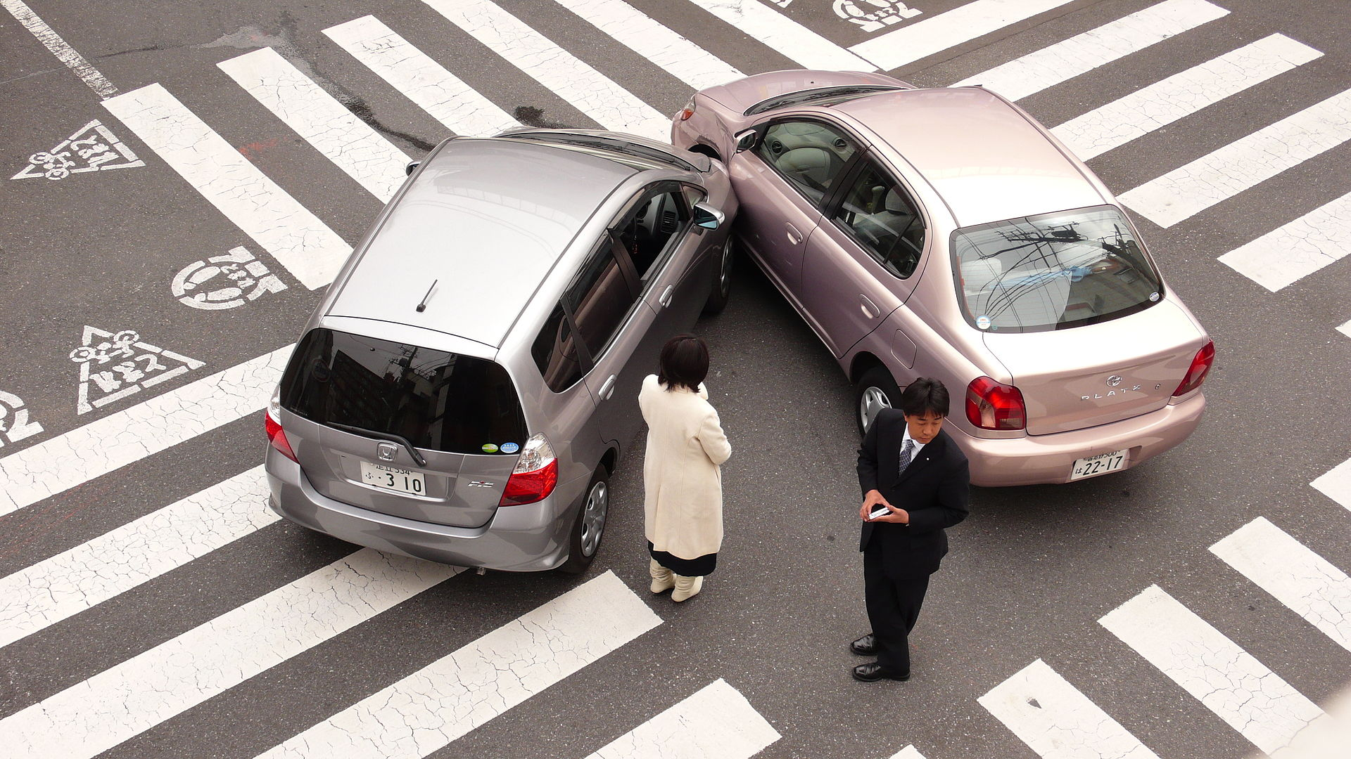 pedestrian injuries and car speed