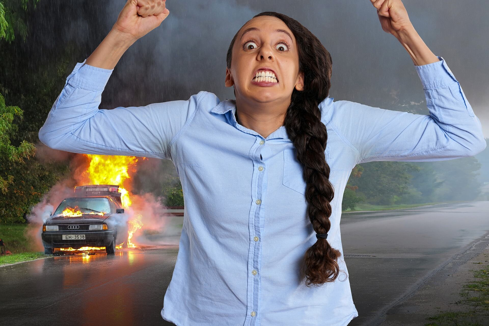 road rage accidents
