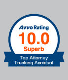 AVVO Top Attorney Trucking Accident